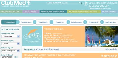 Clubmed france